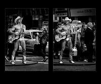 Naked Cowboy in Manhattan