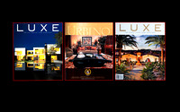 Publications of Luxe Magazine with my images